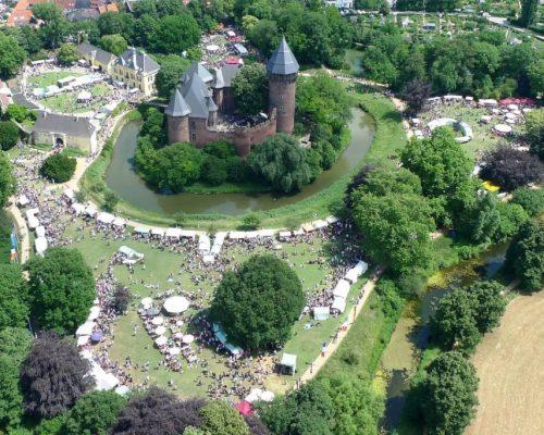 Flachsmarkt Burg Linn